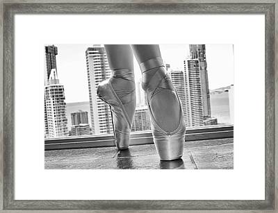 National Ballet Of Panama Framed Print