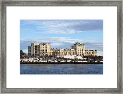 Naval Prison Framed Print by Eric Gendron