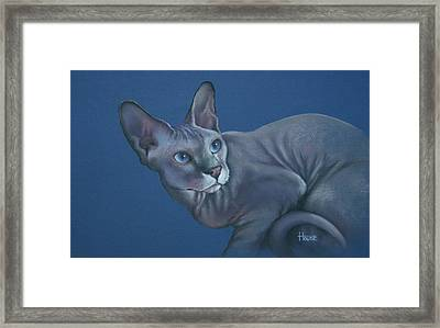 Framed Print featuring the painting Nefertiti by Cynthia House