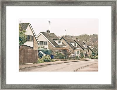 Neighborhood Framed Print by Tom Gowanlock