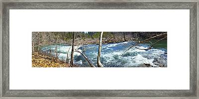 Framed Print featuring the photograph Nemo Rapids by Paul Mashburn