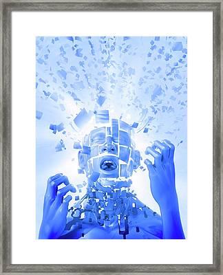 Nervous Breakdown Framed Print