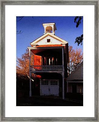 Nevada City F.d. Framed Print