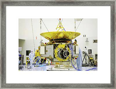 New Horizon's Spacecraft Framed Print by Nasa