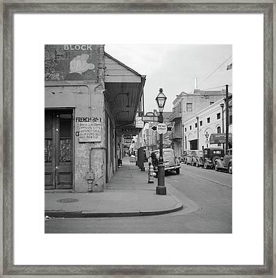New Orleans, 1941 Framed Print by Granger