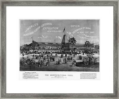 New Orleans Fair, 1884 Framed Print by Granger