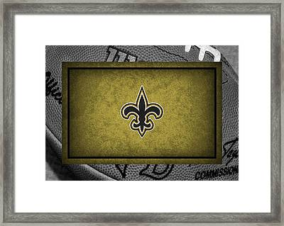 New Orleans Saints Framed Print