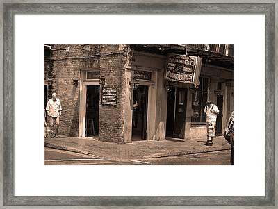 New Orleans Tavern 3 Framed Print