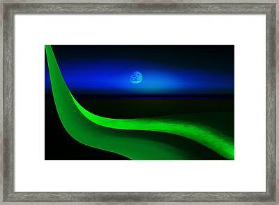 New Tranquility Framed Print by Kellice Swaggerty
