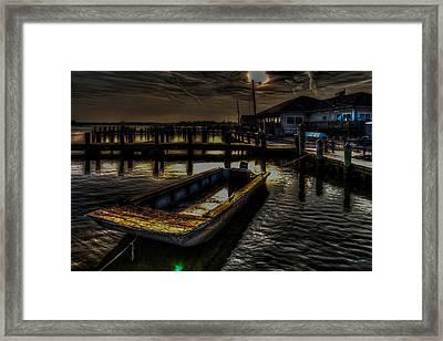 Dreamboat Framed Print by Eric Geschwindner