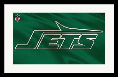 New York Jets Photographs Framed Prints