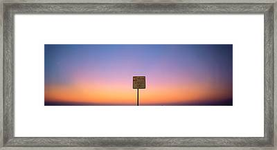 New York Ny Usa Framed Print by Panoramic Images