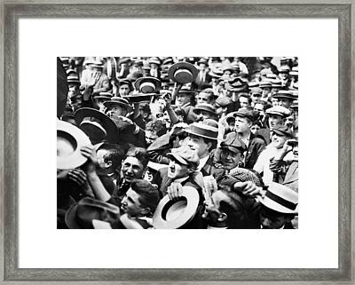New York Union Square Framed Print