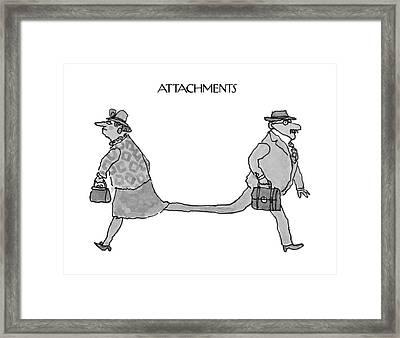 New Yorker November 15th, 1993 Framed Print