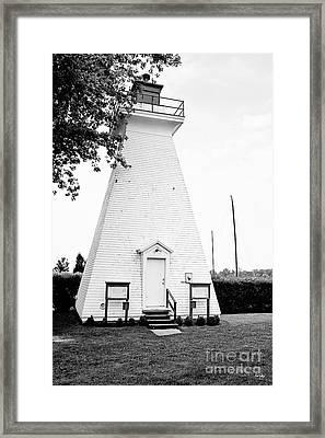 Niagara On The Lake Lighthouse Framed Print by Scott Pellegrin