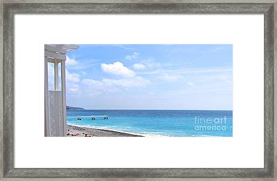 Nice  Framed Print by Suzanne Oesterling