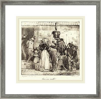 Nicolas-toussaint Charlet French, 1792-1845 Framed Print by Litz Collection