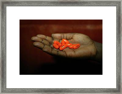 Nigeria Slums Framed Print by Ton Koene