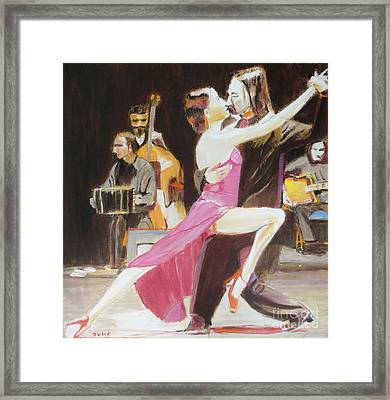 Night Rhythms Framed Print by Judy Kay
