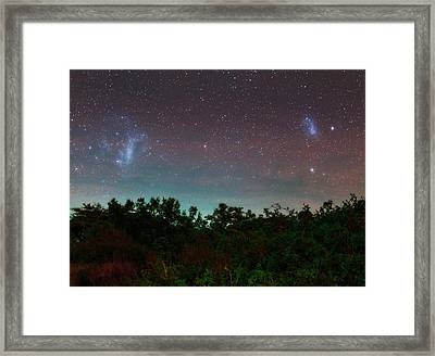 Night Sky Over Kenya Framed Print by Babak Tafreshi