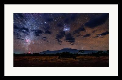 Small Magellanic Cloud Framed Prints