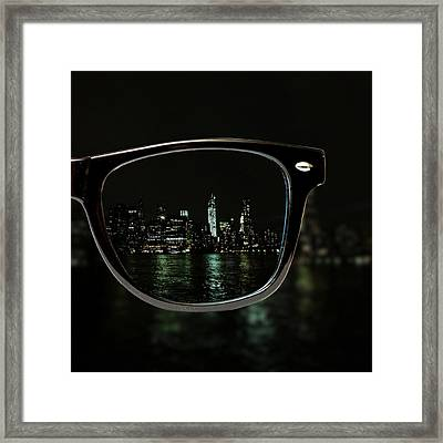 Night Vision Framed Print by Natasha Marco