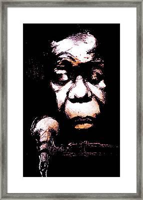 Nina Simone Framed Print by Will  Carlson