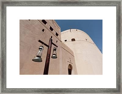 Nizwa Fort, Oman Framed Print by Sergio Pitamitz