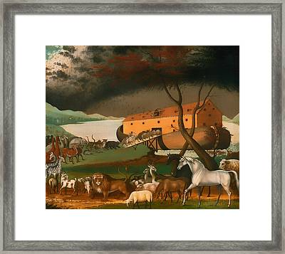 Noah's Ark Framed Print by Mountain Dreams