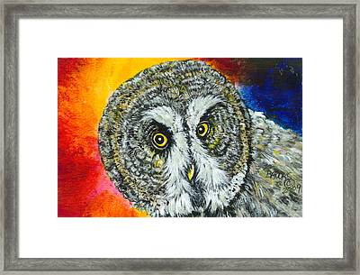 None The Wiser. Framed Print by Richard Brooks