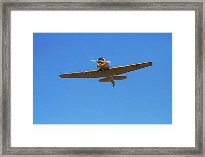 North American Harvard, Or T-6 Texan Framed Print