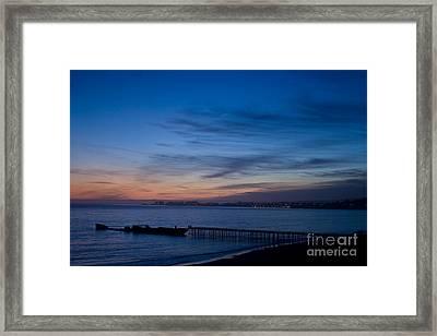 North Monterey Bay Framed Print
