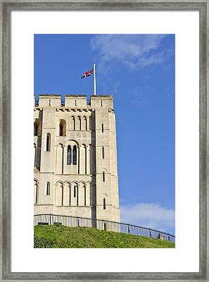 Norwich Castle Framed Print by Tom Gowanlock