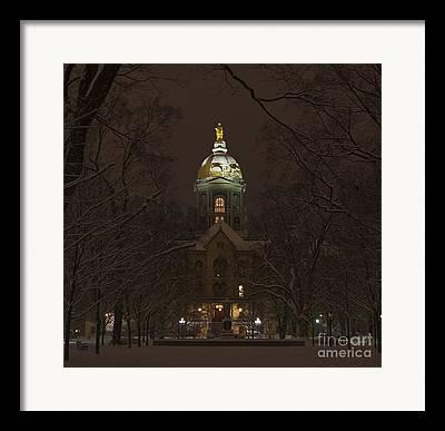 University Of Notre Dame Framed Prints