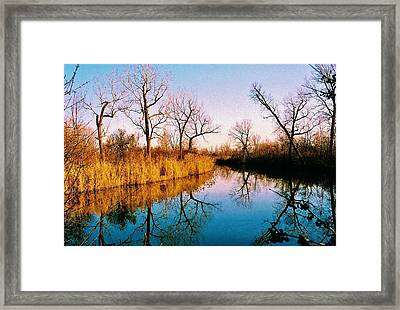 Framed Print featuring the photograph November by Daniel Thompson