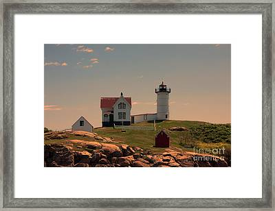 Nubble Light Framed Print by K Hines