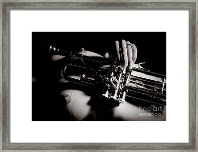 Nude Trumpet Framed Print by Jt PhotoDesign