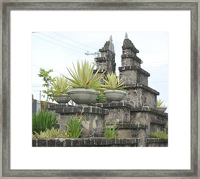 Framed Print featuring the photograph Nusa Dua by Cyril Maza