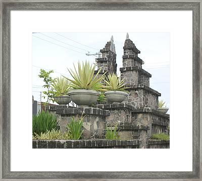Nusa Dua Framed Print by Lorna Maza