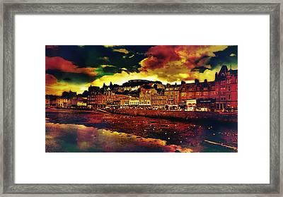 Oban In Scotland Framed Print