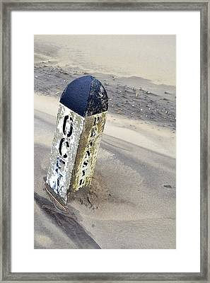 Ocean And Penn  Framed Print
