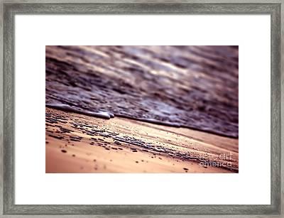 Ocean In Sunshine Framed Print