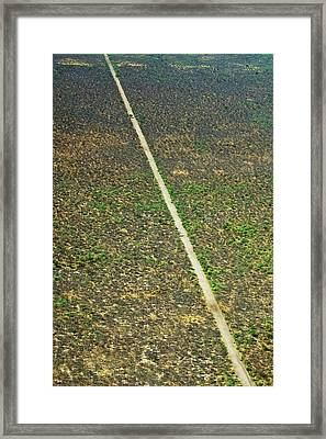 Okavango Delta Framed Print by Louise Murray/science Photo Library