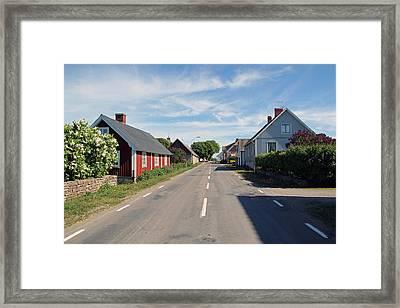 Oland Sweden Framed Print