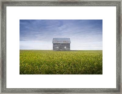 Old House, Manitoba, Canada Framed Print by Mirek Weichsel