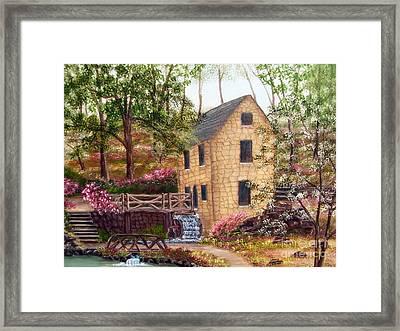 Old Mill North Little Rock Arkansas Framed Print