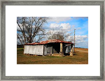 Old Store 04 Framed Print by Andy Savelle