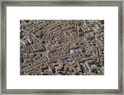 Old Town, Asti Framed Print