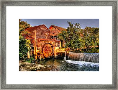 Old Water Mill Framed Print