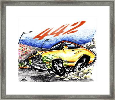 Olds Framed Print by Big Mike Roate